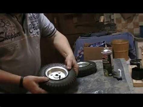 roues de diable ou de tondeuse increvables le resultat apr 232 s 24 h