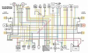 Resultado De Imagen Para Diagrama Electrico De Suzuki Gn 125