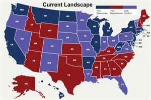 2016 Current Political Polls Map