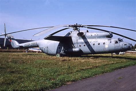The world's biggest helicopters