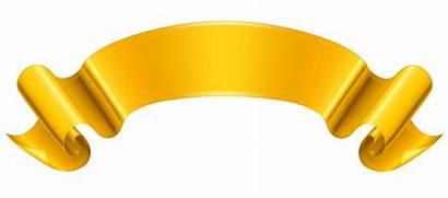 Banner Clip Clipart Gold Designs Cliparts Computer
