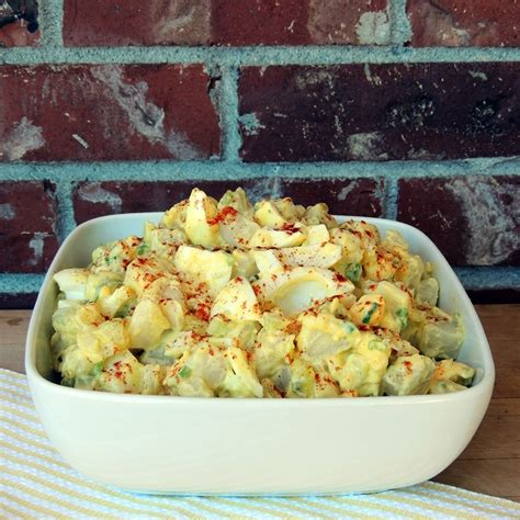 deviled egg potato salad recipe deviled egg potato salad bobbi s kozy kitchen