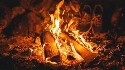 Fire Flame Bonfire 4k Embers Background 1080p