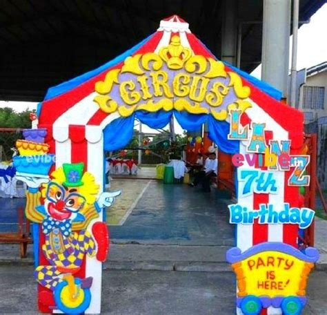 excellent carnival  theme decoration birthday