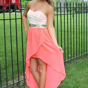 Egyptian Lover Dress Neon Coral from UOI Boutique