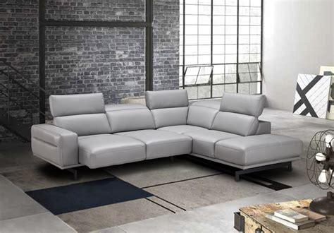 adjustable advanced italian top grain leather sectional
