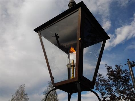 the use of outdoor gas lights warisan lighting