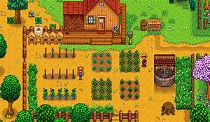 Sow Chart Stardew Valley Starter Guide Crop Tips And Seasonal