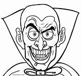 Vampire Coloring Printable Face Halloween Scary Cartoon Drawing Frankenstein Spiderman Vampires Adults Anime Getdrawings Cool2bkids Six Class Tags Bloodthirsty sketch template
