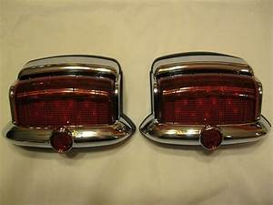 6 Volt Positive   Ground Vintage Style 1946 1947 1948 Plymouth Led Tail Lights 2