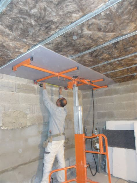 faire un plafond maison travaux
