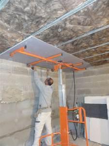 Faire Un Faux Plafond : faire un plafond maison travaux ~ Premium-room.com Idées de Décoration