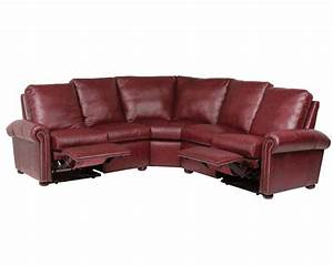 Leather reclining sectionals american made for Sectional sofas with 4 recliners