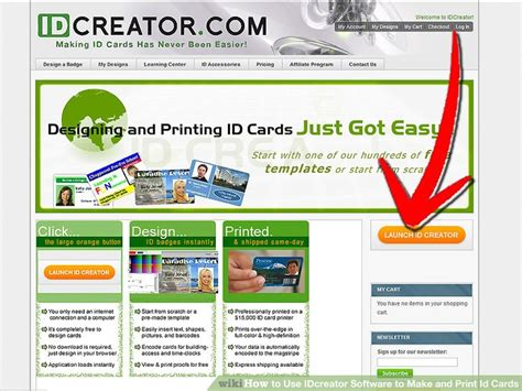 How To Use Idcreator Software To Make And Print Id Cards