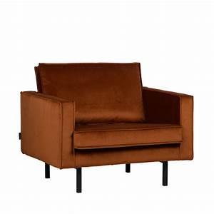 Fauteuil En Velours : fauteuil vintage en velours velvet bronco par ~ Dode.kayakingforconservation.com Idées de Décoration