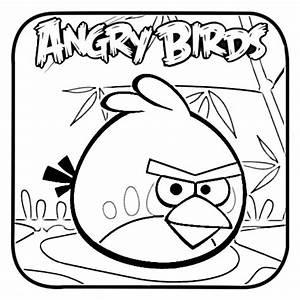 Dibujos para colorear de Angry Birds: Red Angry bird ...