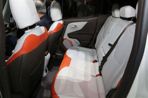 jeep renegade limited interior rear seat photo