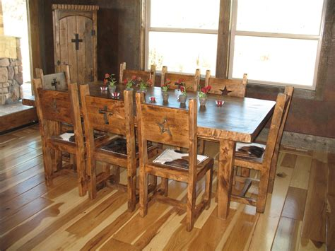 Rustic Dining Set by Rustic Dining Sets Bitter Creek Woodworks