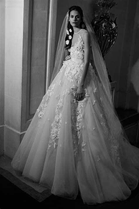 elie saab spring bridal collection tom lorenzo
