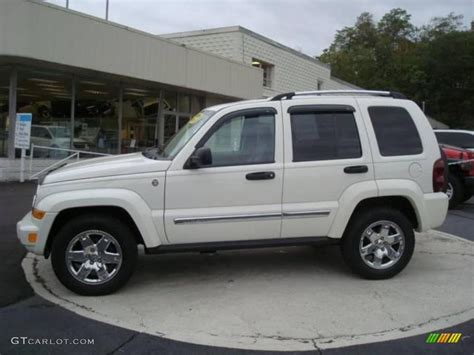 jeep liberty white 2006 stone white jeep liberty limited 4x4 18854773 photo