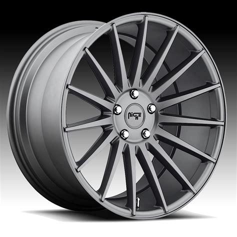 Niche M157 Form Charcoal Custom Wheels Rims  Niche Road