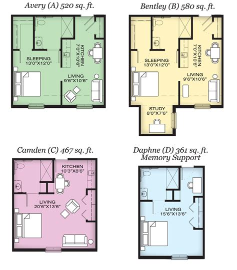 Top Apartment Floor Plans by Amazing Top Fountainbrook Floorplans Apartment Plan