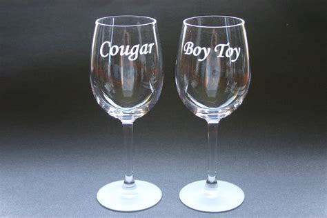 Custom Engraved Wine Glasses Set Of 2 Personalized Etched