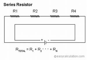 Series Resistor Calculator | Resistors in Series Calculator