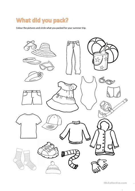summer trip worksheet free esl printable worksheets made