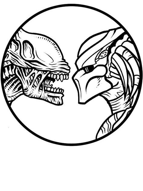 Image result for ALIEN TATTOO LINE DRAWING | Predator