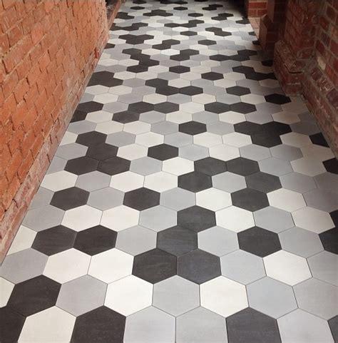 hexagon tile floor hexagonal terazzo cement tiles are here bourkeshire interiors