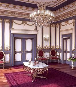 Deco Baroque Moderne : 1001 designs sublimes pour une d co baroque ~ Teatrodelosmanantiales.com Idées de Décoration