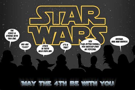 Star Wars Day — Anthony Herrera Designs   Happy star wars ...
