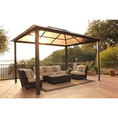 comfortable patio area  summer luxurious spa