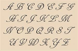 Fancy Cursive Calligraphy Alphabet - Graffiti Art Collection
