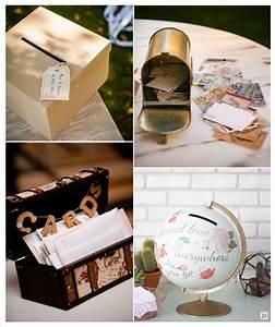 Boite Aux Lettres Americaine : urne de mariage theme voyage le mariage ~ Dailycaller-alerts.com Idées de Décoration