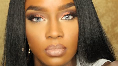 caramel colored skin desio lenses on brown
