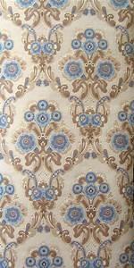 Alte Tapeten Ablösen : tapete blauer salon barock tapeten vintage retro ~ Watch28wear.com Haus und Dekorationen