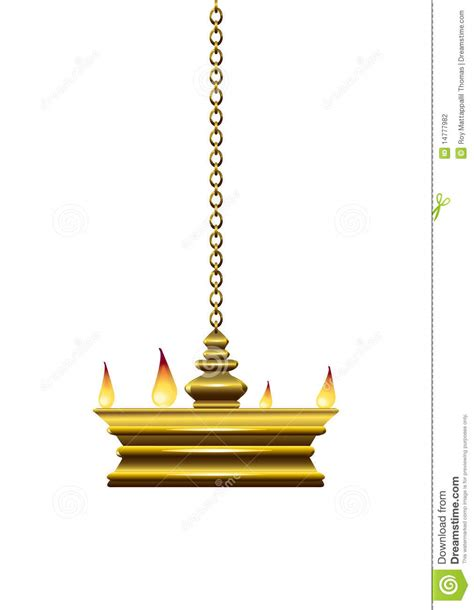 Oil Lamp Stock Vector Image Of Hanging, White, Culture