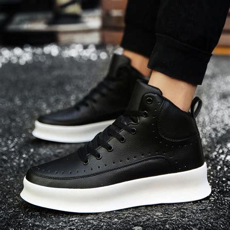 Thestron Leather Shoes Men Casual Male Designer