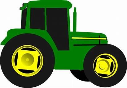 Tractor Clip Clipart Vector Clker