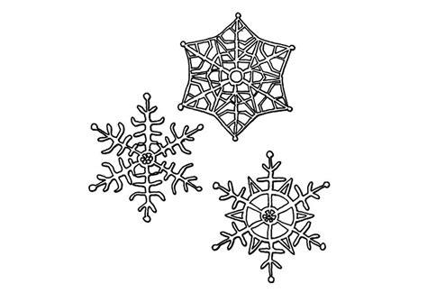 coloriage cristaux de neige img