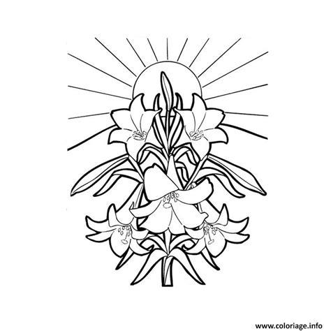 coloriage fleur tropicale jecoloriecom