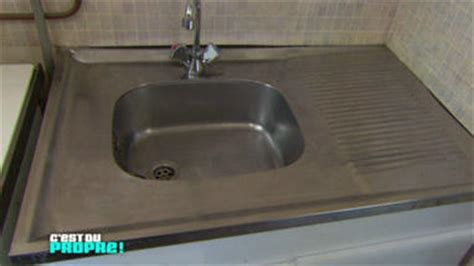 nettoyer inox cuisine comment nettoyer evier aluminium la réponse est sur admicile fr