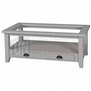 Table Basse En Pin : table basse de salon en pin massif 120cm 2 tiroirs ~ Teatrodelosmanantiales.com Idées de Décoration