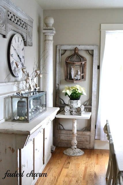 decorating  architectural salvage  ideas  high