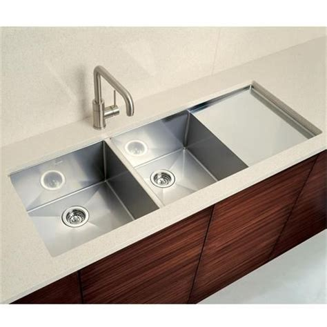 undermount kitchen sink with drainboard blancoprecision 10 bowl with integral drainboard by