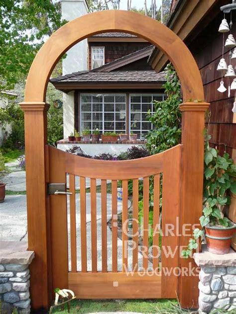 images  backyard gate ideas  pinterest