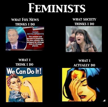 Feminist Meme - hey girl who needs feminism feminism as a meme dpi