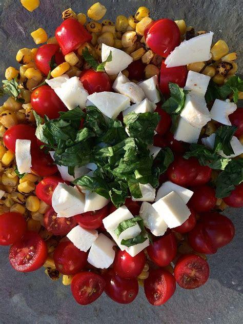 Fresh Tomato and Corn Salad